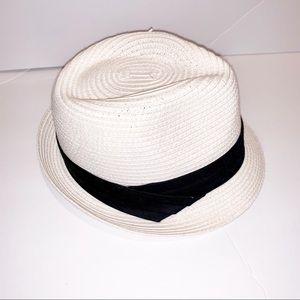 White fedora hat OS